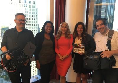 The KMP crew with Lori