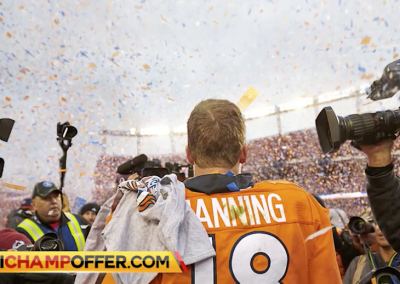 Peyton Manning, going out in style